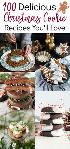 So many great Christmas cookie recipes! I can't wait to try them. So many great Christmas cookie recipes! I can't wait to try them. Mini Desserts, Holiday Desserts, Holiday Baking, Holiday Treats, Holiday Recipes, Christmas Recipes, Christmas Deserts, Christmas Food Gifts, Christmas Cooking