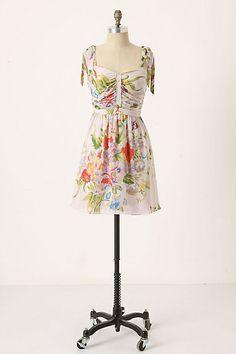 53558cbdf598 Anthropologie Summer Twilight Dress by Leifsdottir size 8 NWT hard to find  SILK!