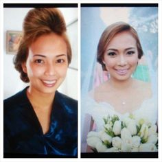 Our 2nd bride yesterday. Perfectly beautiful. Make Up by the amazing and talented Steph Ching and Hair style by the great Aya. Great job guys. Congrats Kat and Terrence. We love yah!! ;)  CJ Jimenez Make Up Team: 1. Exceptional Portfolio 2. Consistent, More than A Thousand, Unsolicited and Real Time Positive Clients Feedback 3. Numerous Credentials:  Pond's Beauty Ambassador (1 of only 16 HMUAs in the Philippines) Bridal Make Up Artist of the Year- Top Brands Most Sought After Supplier / Top…