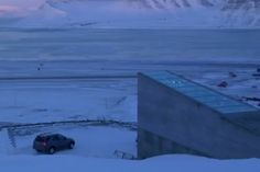 A new documentary tells the story of the 'frozen garden of Eden' hiding below the permafrost in Svalbard, Norway.