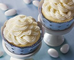 Double Almond Wedding Cupcakes Recipe by Betty Crocker Recipes, via Flickr