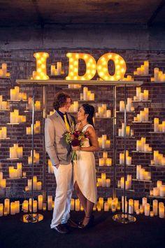 Boda idea romántica