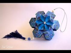 video tutorial: Origami Maniacs: Origami Florucha By Isa Klein