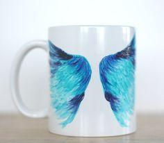 Angel Wings Gift Angel Wings Coffee Mug Wings by ABitCuckooGifts