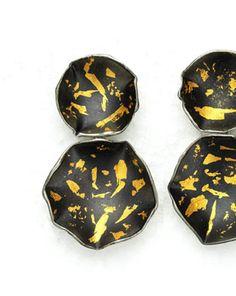 www.senayakin.com Flora, 24K altın varak, 925 Ag