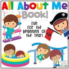 ALL ABOUT ME: All About MeAll About Me Book - Beginning of the YearNeed a fun activity for the first week of school? Students will love to create their very own All About Me Booklet! This is also a useful tool to get to know your students. All About Me Book is Best suited for Kindergarten through 2nd!---------------------------------------------------------------------------------------All About Me Book Pages Include: All About Me Book Cover PageA Drawing of MeMy Family PictureMy Favorites…