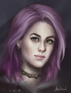 Nymphadora Tonks by feavre