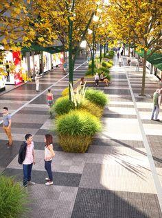 Primeiro Lugar no Concurso Nacional de Ideias para a Renovação Urbana da Área Central de San Isidro / Argentina | ArchDaily Brasil