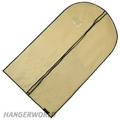 Cream Breathable Suit Cover  - 41 Inches