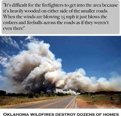 Thanks to the Oklahoma Firefighters!