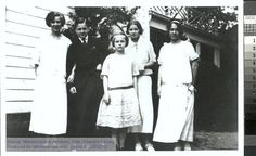 Anne Morrow Lindbergh and her siblings. The Manuscripts and Archives Digital Images Database (MADID)