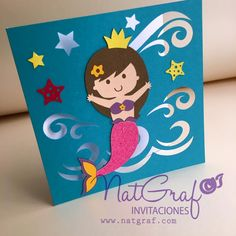Little Mermaid de NatGrafDesigns en Etsy