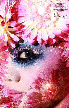 Fantasy Makeup Gallery | Flower / Flora Creative Fantasy Makeup performance by Scenefis Makeup ...