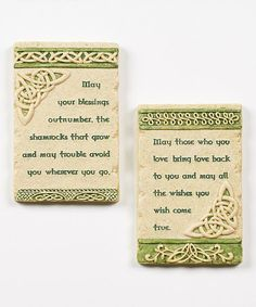 Look what I found on #zulily! 'May Your Blessings' Wall Plaque #zulilyfinds