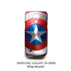 Shield Captain America Samsung Galaxy S4 Mini Case Wrap Around