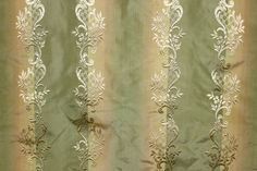 Ombre Embroidery Sage Color 1