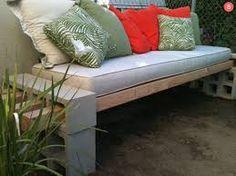 concrete block sofa - Google Search