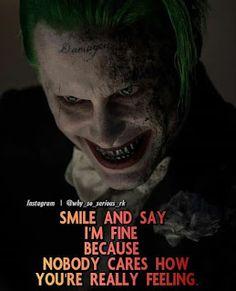 It's damn true Joker Love Quotes, Joker Qoutes, Crazy Quotes, Badass Quotes, Attitude Quotes, Mood Quotes, Positive Quotes, Wisdom Quotes, True Quotes