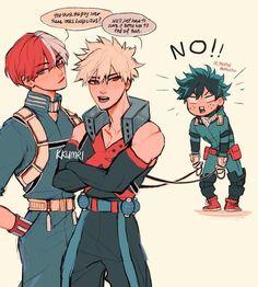 They look hot in this My Hero Academia Shouto, My Hero Academia Episodes, Hero Academia Characters, Anime Characters, Funny Anime Pics, Cute Anime Guys, Bakugou Manga, Familia Anime, Villain Deku