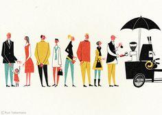 Ryo Takemasa : Everyday Life | Artworks | Tokyo Illustrators Society (TIS)