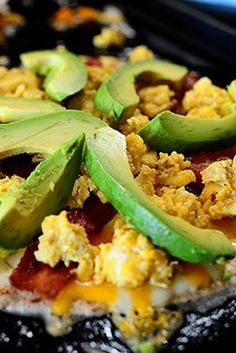 Breakfast Quesadillas with Bacon, Peppers, and Avocado | 18 Breakfast Burritos Worth Waking Up For