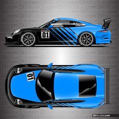 Porsche mercedes-benz Martini renntransporter camión camión o317 blanco 1:43 Roadster