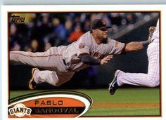 2012 Topps #185 Pablo Sandoval - San Francisco Giants (Baseball Cards) by Topps. $1.88. 2012 Topps #185 Pablo Sandoval - San Francisco Giants (Baseball Cards)