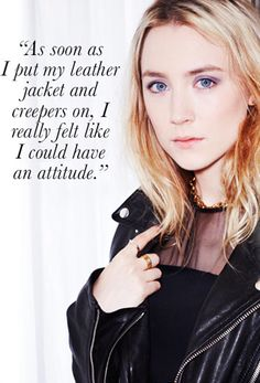 Saoirse Ronan wore Sylvie Rose rings in Who What Wear