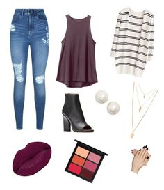 vibes by desaraiwright on Polyvore featuring polyvore moda style RVCA Lipsy Kate Spade Forever 21 MAC Cosmetics Winky Lux Static Nails fashion clothing