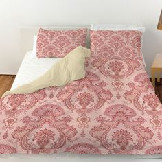 Damask Pattern Duvet Cover