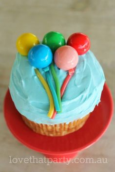 1000 images about super simple birthday cakes on for Balloon cake decoration
