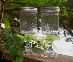 Pair of Redneck Wine Glasses by LadyWithTheCuteGlass on Etsy, $18.00