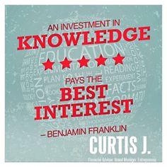 #KnowledgeIsTheNewMoney #LetsWin #CurtisJ