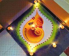Easy Rangoli Designs Diwali, Rangoli Simple, Indian Rangoli Designs, Rangoli Designs Latest, Simple Rangoli Designs Images, Rangoli Designs Flower, Rangoli Patterns, Free Hand Rangoli Design, Small Rangoli Design