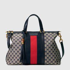 d0668bed839 Gucci Rania Original GG top handle bag  Guccihandbags Macrame Bag