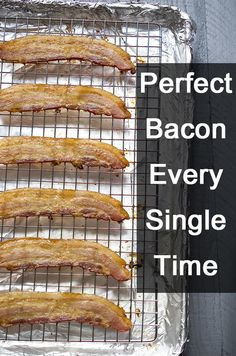 No more splattering hot drops of oil that burn and make a mess! Painless way to perfect, crispy strips every time. Instructions here: http://www.ehow.com/ehow-food/blog/the-foolproof-pain-free-way-to-cook-bacon/?utm_source=pinterest&utm_medium=fanpage&utm_content=blog