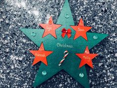 Excited to share the latest addition to my shop: Personalised Freestanding Christmas Family Star Decoration Star Decorations, Family Christmas, Etsy Shop, Unique Jewelry, Handmade Gifts, Shopping, Vintage, Kid Craft Gifts, Craft Gifts