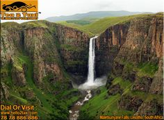 Maletsunyane Falls, Lesotho, South Africa ..!! #Best #Taxi and #driver #service #provider #ahmedabad Call : 78-78-886-886 www.hello2taxi.com