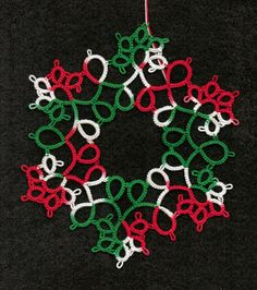 Bridge City Tatting: Tatted Snowflakes ornament