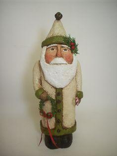 white coat santa - Google Search