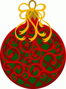 Silhouette Design Store: christmas ornmanet