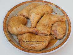 Pulpe de pui pe varza la cuptor - Bunătăți din bucătăria Gicuței Turkey, Potatoes, Chicken, Meat, Vegetables, Food, Turkey Country, Vegetable Recipes, Eten