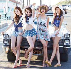 Girl's Day ~Sojin, Minah, Yura, Hyeri~