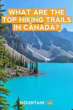 Hiking in Canada – 8 Best Hiking Trails (Expert Guide) - Canada is the perfect destination for outdoor adventurers and nature lovers! Situated in - Landscaping Shrubs, Landscaping With Rocks, Modern Landscaping, Landscaping Ideas, Landscape Drawings, Landscape Design, Canada Mountains, Low Maintenance Landscaping, Best Hikes