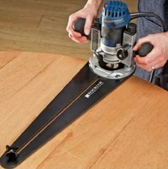 Trim Router Circle Jig – Rockler Woodworking Tools | Woodworking Session