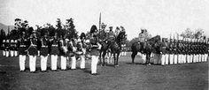 Parada Militar en el Parque de Marne (Parque O`higgis)