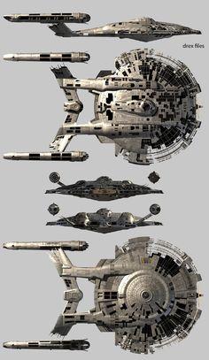 NX 02 Cruiser From Star Trek