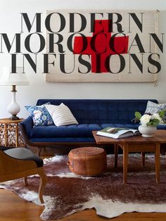 Modern Furniture Infusion with Moroccan Decor - posted by  Itsere PRO