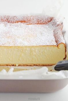 Dessert Cake Recipes, No Bake Desserts, Good Food, Yummy Food, Bread Cake, Polish Recipes, Pavlova, Cheesecake, Food And Drink