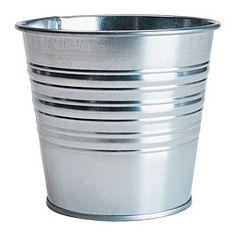 """Outside diameter: 5 ½ """" Max. diameter inner pot: 4 ¾ """" Height: 4 ¾ """" Inside diameter: 5 """""""
